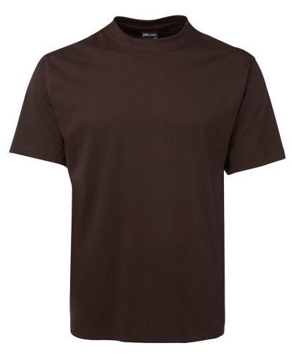 Round Neck T Shirts - Chocolate