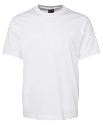 Round Neck T Shirts - White