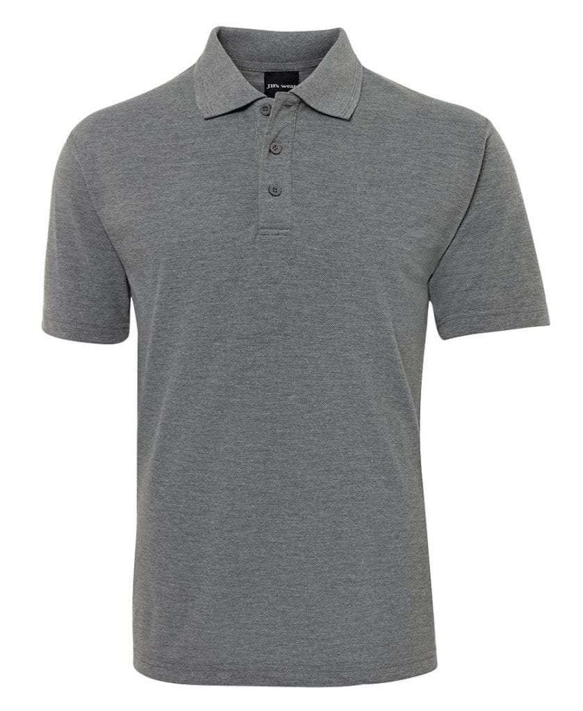 Polo Shirts - Grey Marle