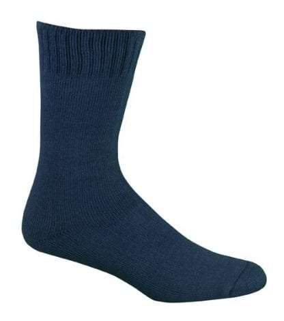 Bamboo Extra Thick Work Socks-Size 4-18 -NAVY