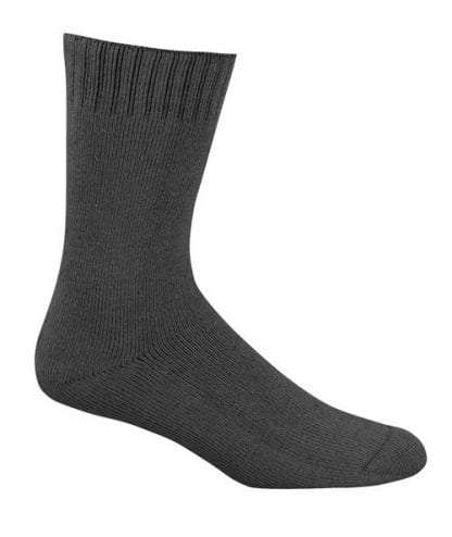 Bamboo Extra Thick Work Socks-Size 4-18 -Slate