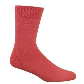 Bamboo Extra Thick Work Socks-Size 4-18 -Watermelon