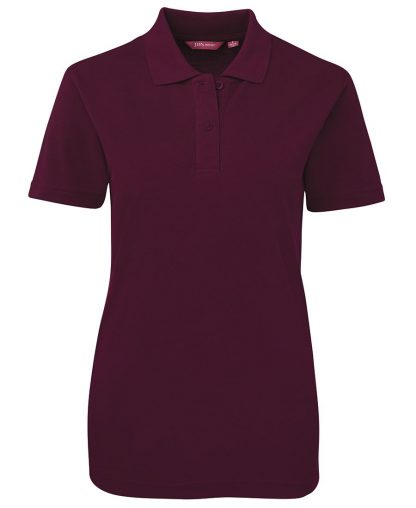 Ladies Polo - Maroon