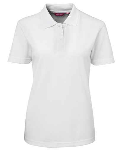 Ladies Polo - White