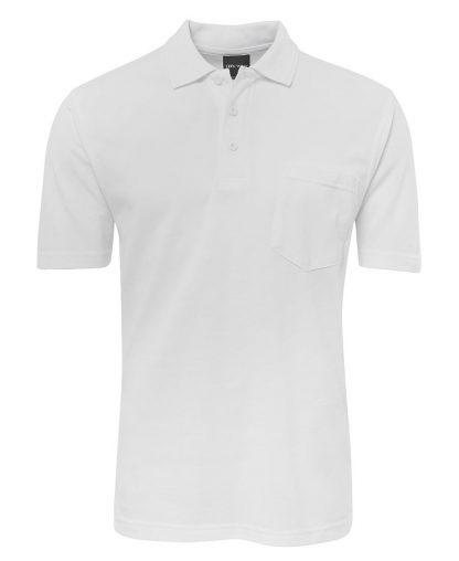 Pocket Polo - White