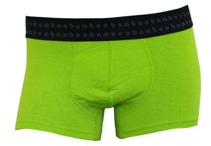 Lime Mens Bamboo Trunks