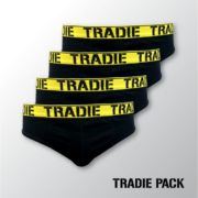 Tradies Briefs - 4 Pack - Very Comfortable Undies core pack