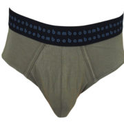 Bamboo Mens Briefs - Olive