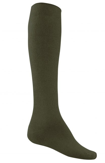 Bamboo Extra Long Thick Work Socks - Khaki