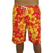 Big Island Shorts Red/Yellow