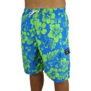 Big Island Shorts Royal/Green