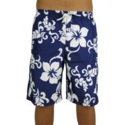 Big Island Shorts Navy/White