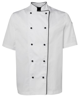 Chef Jacket - White with Black