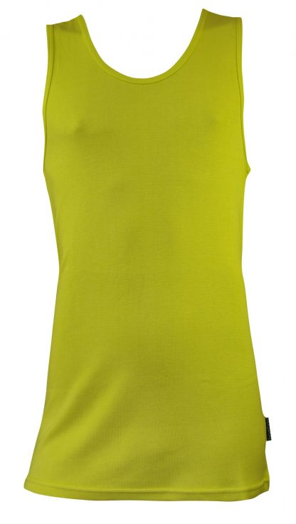 Bamboo Singlets by Bamboo Textiles - Yellow