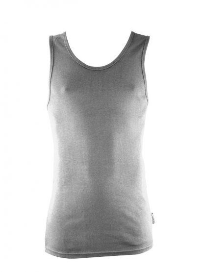 Bamboo Singlets by Bamboo Textiles - Grey