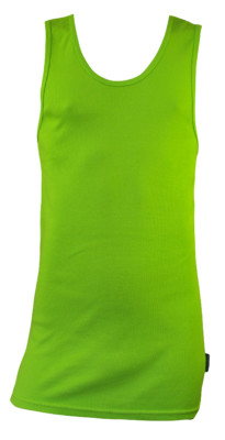 Bamboo Singlets by Bamboo Textiles - Lime
