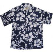 Big Island Hawaiian Shirts - Big Island Navy