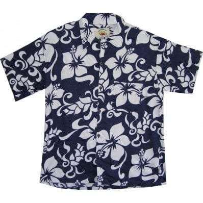 Big Island Hawaiian Shirts - Big Island Navy