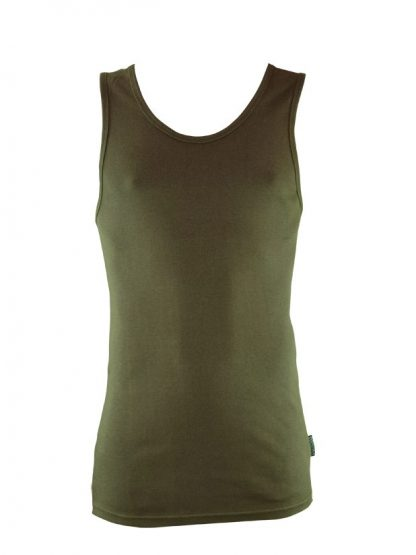 Bamboo Singlets by Bamboo Textiles - Olive