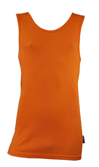 Bamboo Singlets by Bamboo Textiles - Orange