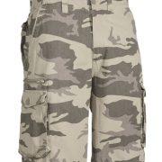 Bisley Camo Shorts - Natural