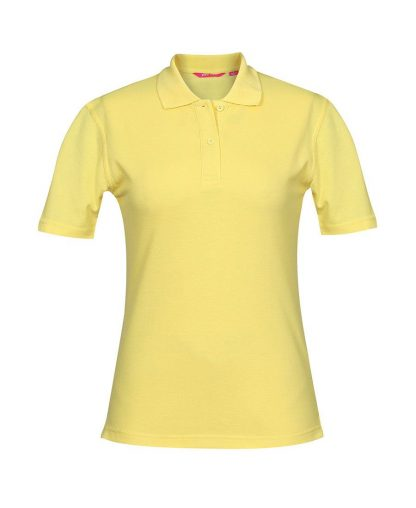Ladies Polo - Lemon