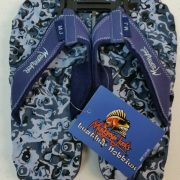 Mangrove Jacks Knobby Thongs - Blue