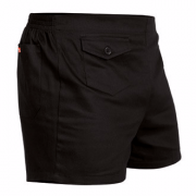 Stubbies Original Cotton Drill Short Black