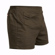 Stubbies Original Cotton Drill Short Brown