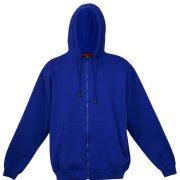 Kangaroo Pocket Hoody Full Zip Royal_Blue
