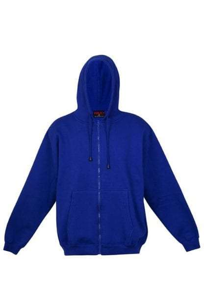 Kangaroo Pocket Hoody Full Zip Royal_Blue