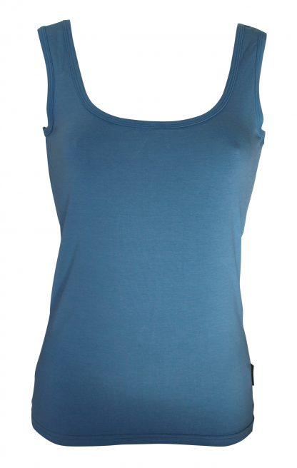 Bamboo Singlet Ladies - Denim
