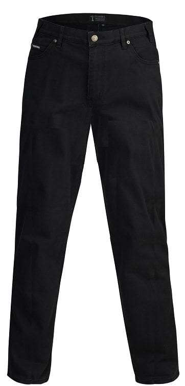 Pilbara Jeans Cotton Stretch Classic Fit Black