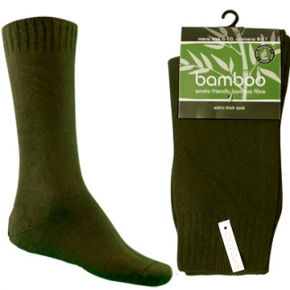 Bamboo Extra Thick Work Socks-Size 4-18