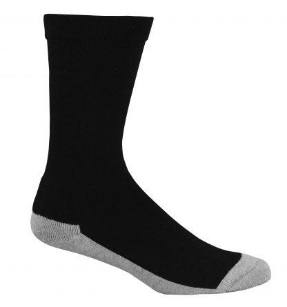 Bamboo-Health-Socks-Black-grey