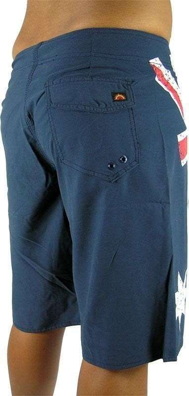boardies - aussie blue back