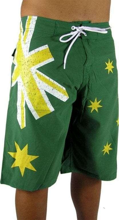 boardies - aussie green front