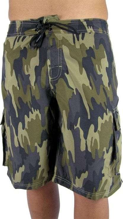 boardies camo green front