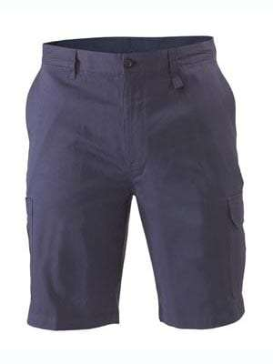 Bisley Light & Cool Utility Shorts- navy