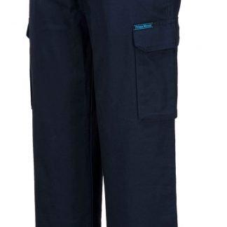 Lightweight Cargo Pants - Navy side