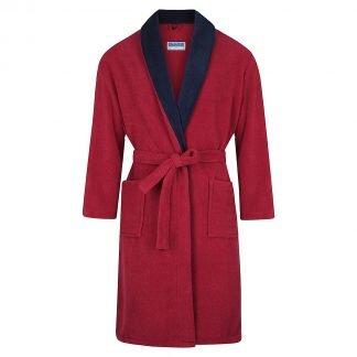 Winter Fleece Gown - Burgundy