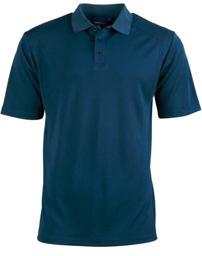 Bamboo Ocean Blue Polo - To 5XL & Good for You