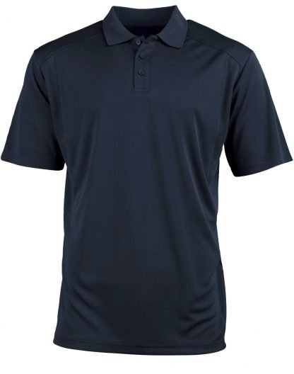 Bamboo Navy Polo - To 5XL & Good for You