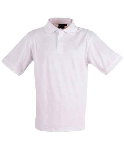 Cool Dry Polo - White