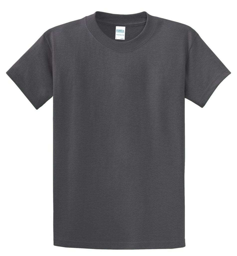 Tall Essential Tee - Charcoal