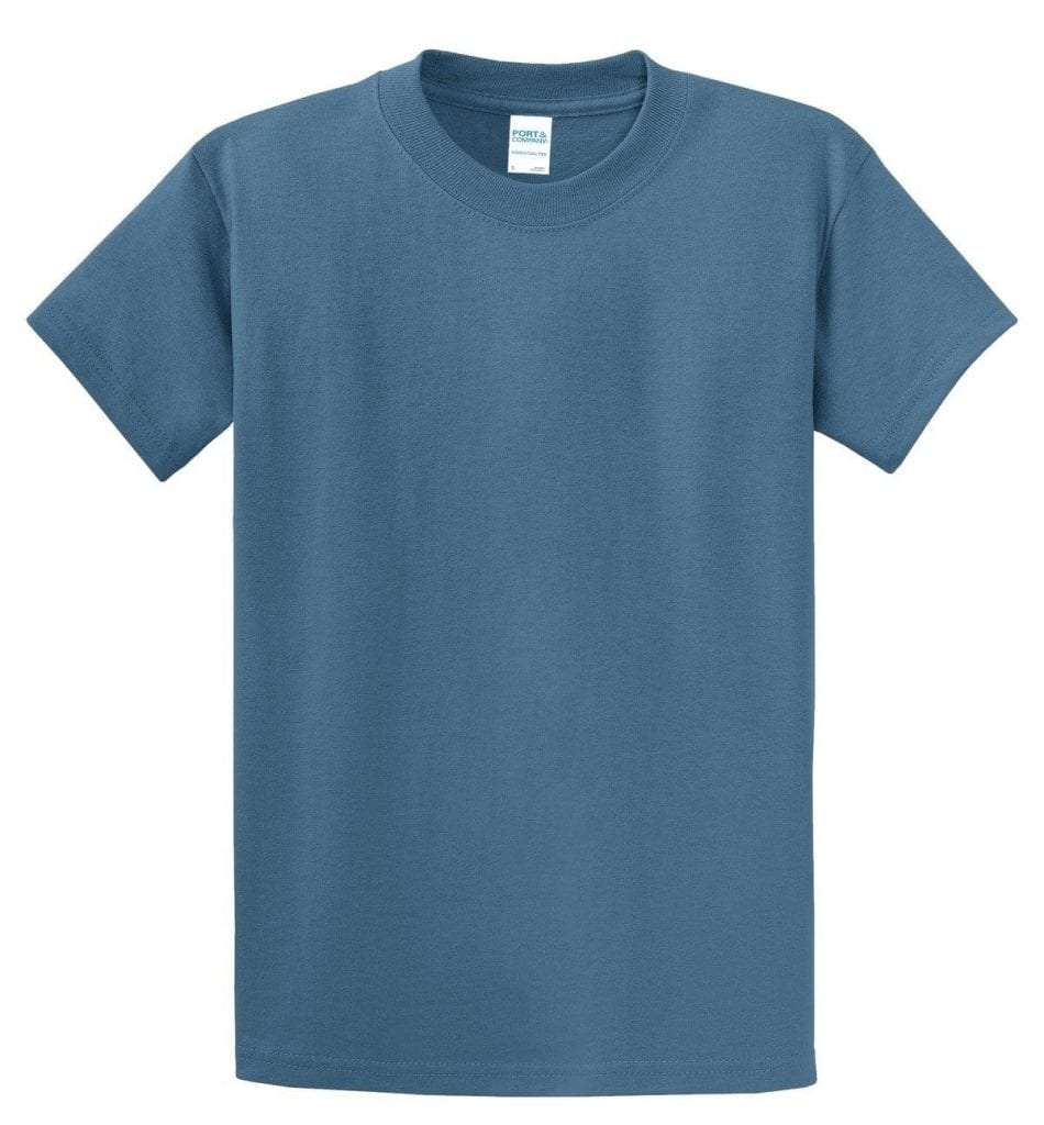 Tall Essential Tee - Colonial Blue