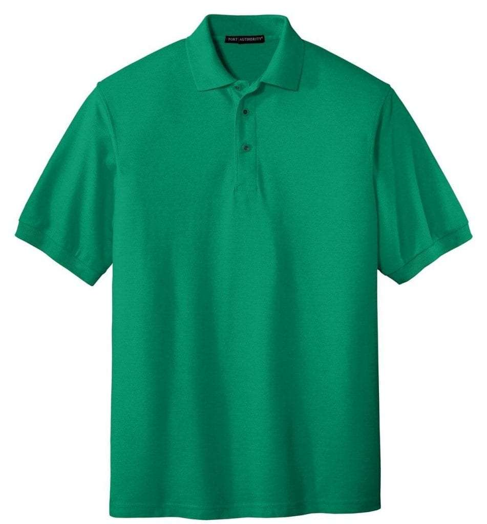 Tall Silk Touch Polo - KELLY GREEN